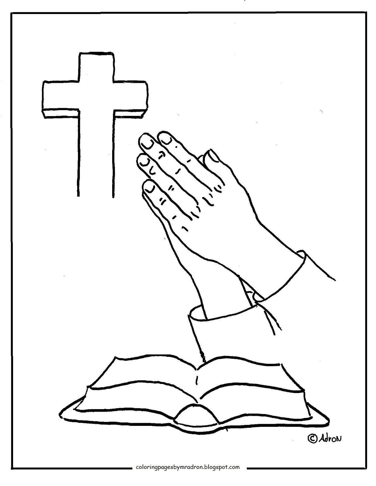 Coloring Pages for Kids by Mr Adron For Me To Live Is