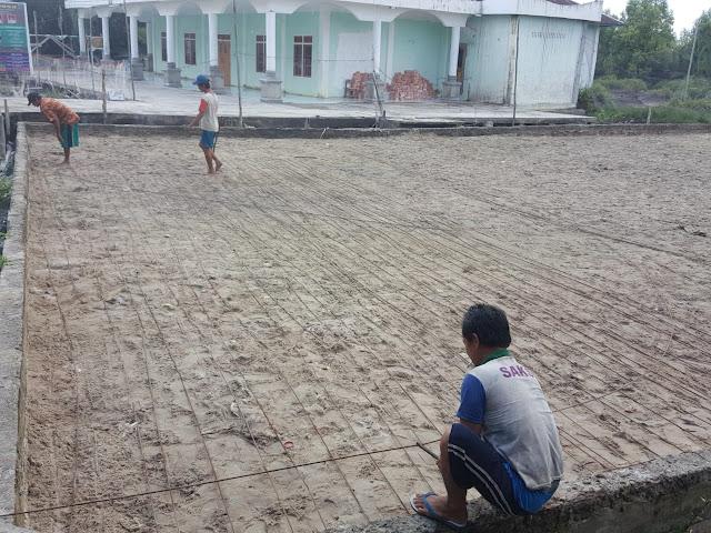 Warga Kuala Sungai Jeruju Akan Nikmati Lapangan Futsal