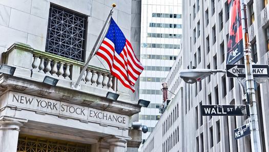 New York Stock Exchange in Wallstreet