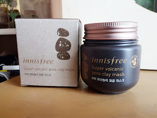 Review Innisfree - Super Volcanic Pore Clay Mask