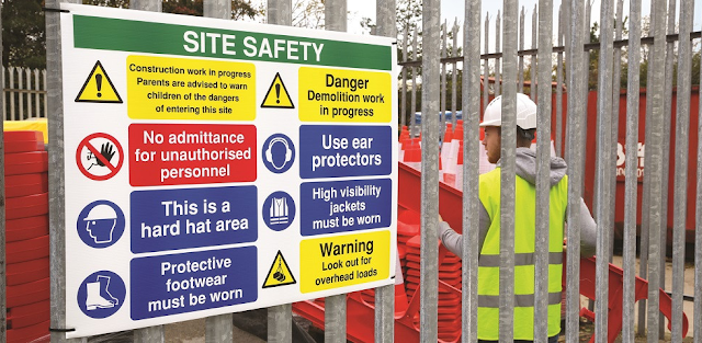 Safety Measures at construction site