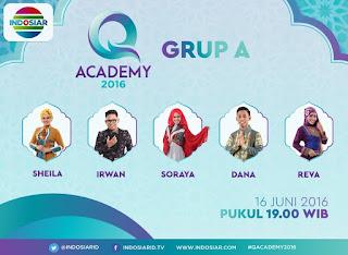 Q Academy Indosiar 2016 Yang Batal dan Sah Tadi Malam