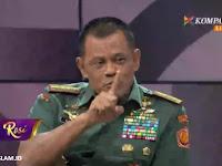 Ditanya KompasTV soal Aksi 55 Makar, Panglima TNI Berang: Saya Umat Islam Juga
