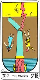 torre tarot egipcio