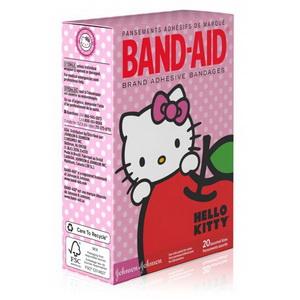 Miếng Dán Vết Thương  Cho Bé Gái  Hello Kitty Band Aid Hàng Mỹ Xách Tay