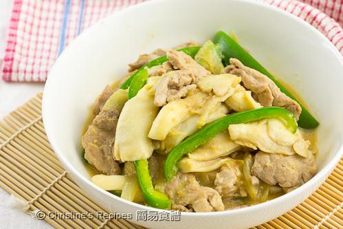 Miso Mushroom Pork03