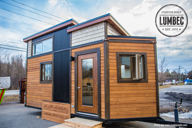 TINY HOUSE TOWN The Lumbec MicroHouse