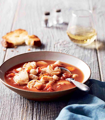 Tomato Seafood Stew (Cioppino) Recipe