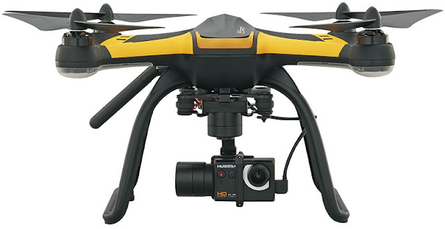 axis gymbal in addition to FPV existent fourth dimension trasmission of photos in addition to videos Hubsan H109s X4 Pro Review