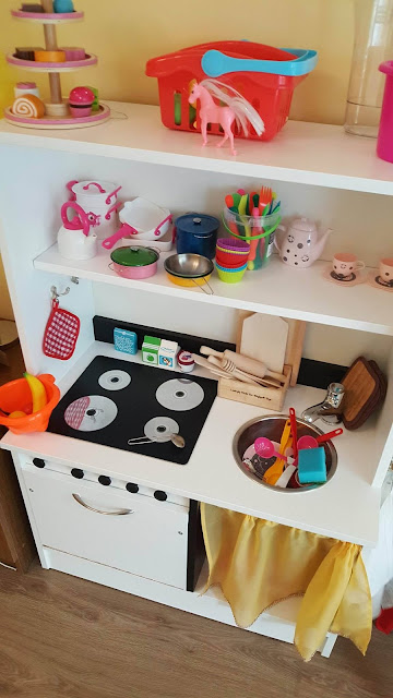 gotowa kuchnia zabawkowa