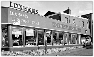Loxhams Motor Garage, Charnley Street, Preston1965