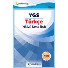 Güvender YGS Türkçe Yıldızlı Konu Testi
