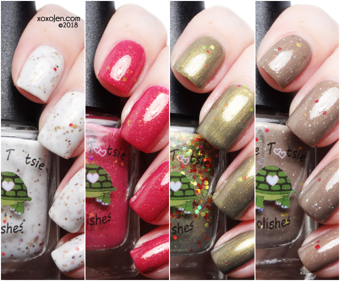 xoxoJen's swatch of Turtle Tootsie Crazy 4 Crellies Thanksgiving Quad
