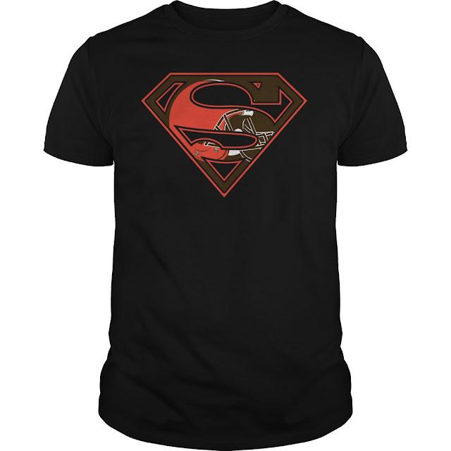 Cleveland Browns Superman Logo Shirt