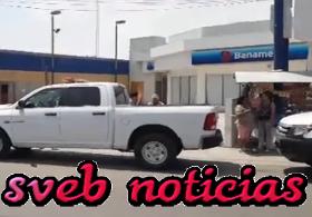Asaltan sucursal Banamex en Altamira Tamaulipas este Jueves