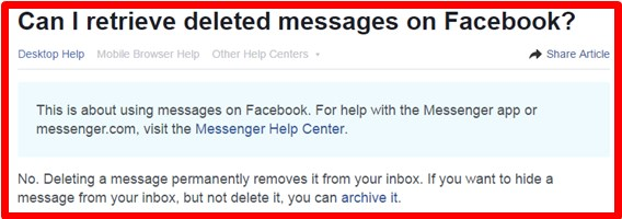 Is it possible to get deleted messages back on facebook jason queally perhaps you can not do it in the past with modern technology established a large amount of software appears for facebook messages recovery how ccuart Gallery