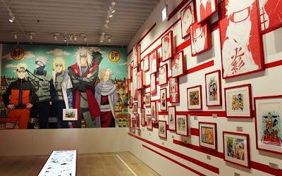 Naruto Exhibit Shippuden Japan