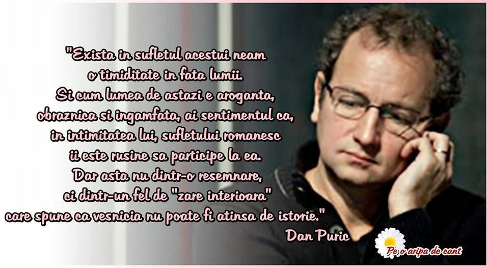 dan puric citate Pe o aripă de cânt: 12 februarie     La multi ani, Dan Puric! dan puric citate