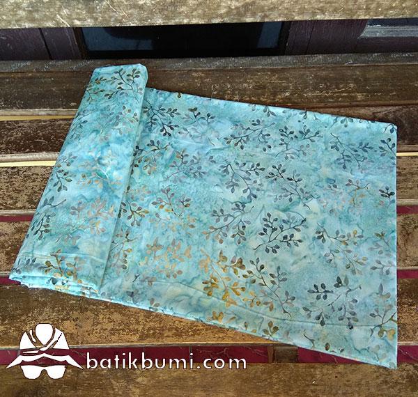 Kain Batik Cap Motif Daun Dollar Rambat