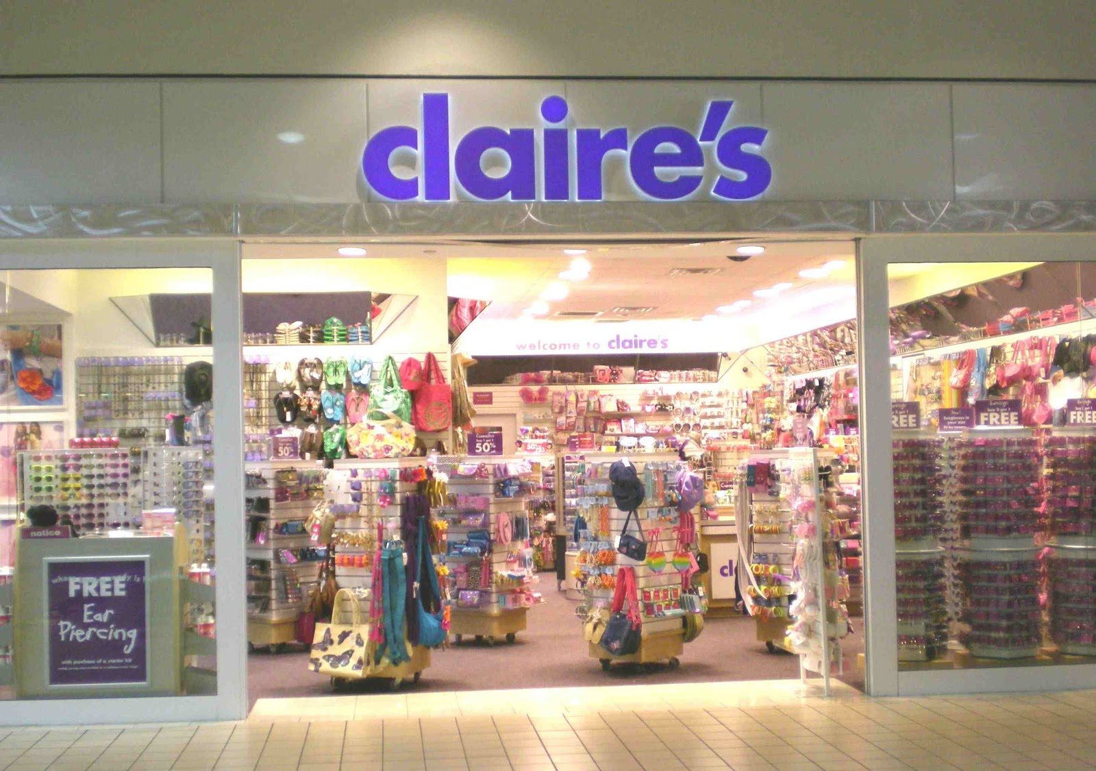 claires ear piercing coupon