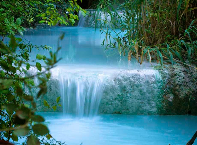 Bagni San Filippo, torrente del Fosso Bianco