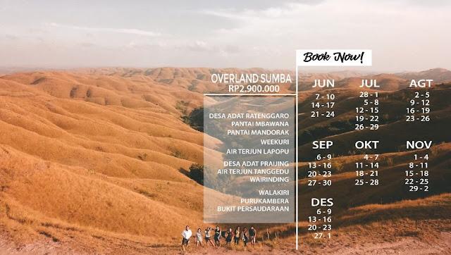 Open Trip Overland Sumba
