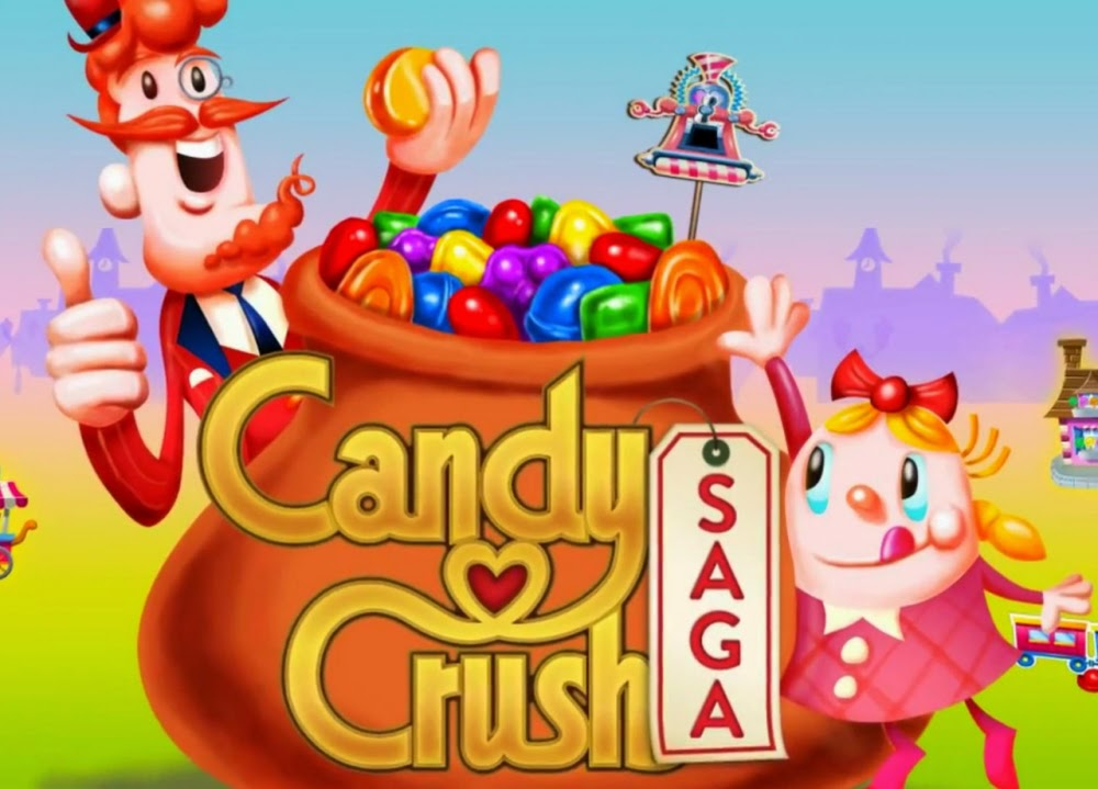 Game candy crush saga cho android