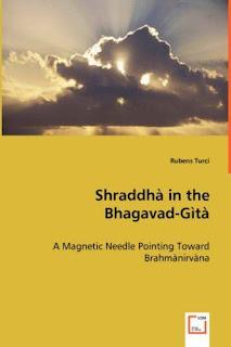 Primeira tese de filosofia sobre a  Bhagavad Gītā