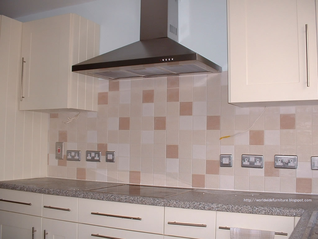 All About Home Decoration & Furniture: Kitchen Wall Tiles