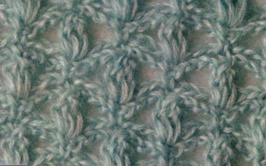 Patrón #1813: Punto Calado a Crochet