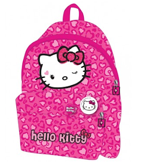 Ghiozdan pentru gradinita fetite Hello Kitty roz comanda de aici