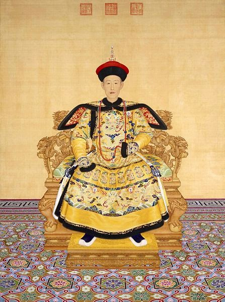 The Qianlong Emperor, 1736