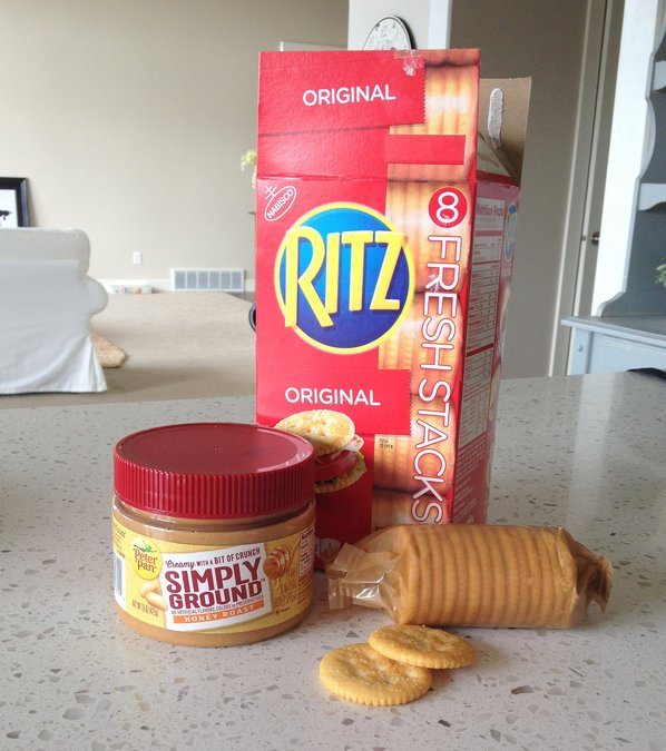 ritz fresh stacks and peter pan simply ground pb