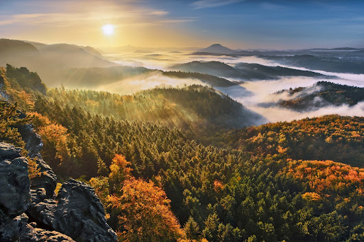 The Bohemian Switzerland National Park