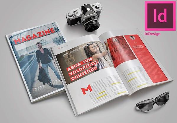 3 plantillas para Indesign de Libros y Revistas Gratis [ FREE ]