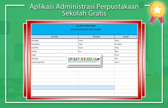 Aplikasi Administrasi Perpustakaan