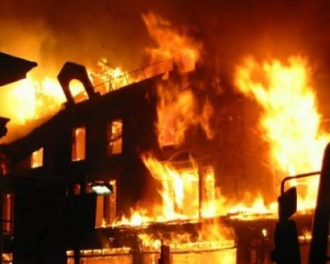 Church Set Ablaze After Pastor's Son Stabbed DJ To Death In Ibadan