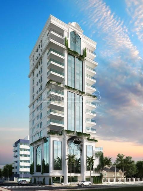 V2026 - Maison Garden Residence - Apartamento 4 suítes - Quadra do Mar - Meia Praia - Itapema/SC