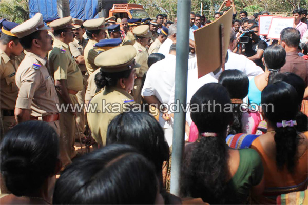 Palakunnu, Murder, Accuse, Case, Police, Police Station, Protest, CPM, March, Inauguration, Mahila Association, Crime Branch