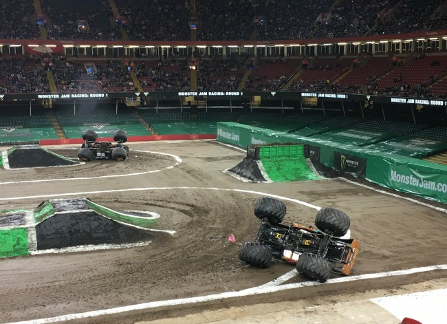 Monster-jam-principality-stadium-cardiff-cars-overturned
