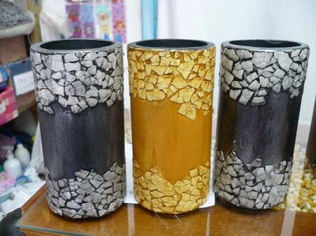 Ideas para reciclar tubos de tela muebles y accesorios - Ideas para reciclar muebles ...