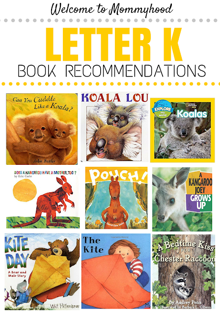 Tot Labs presents Letter of the Week: Letter Kk book recommendations by Welcome to Mommyhood, #preschoolactivities, #montessoriactivities, #montessori, #handsonlearning, #letteroftheweek, #lotw, #freeprintables