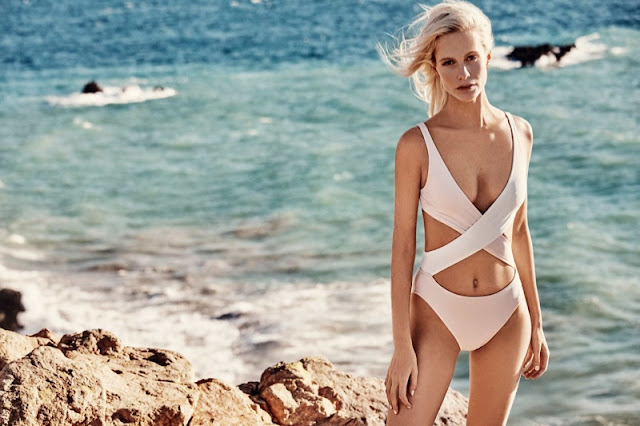 Solid and Striped x Poppy Delevingne Swimwear 2016