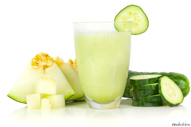 Green fresh smoothie by Maikshine