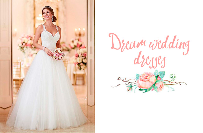 urbanika moda: el vestido de novia soñado