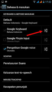 Cara matikan Suara ketikan keyboard android