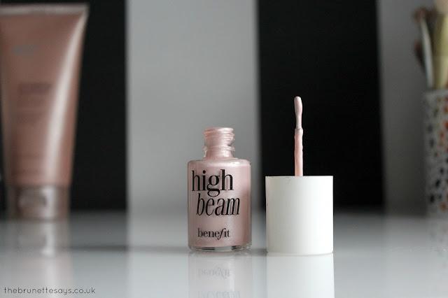 beauty, makeup, benefit, high beam, highlighter