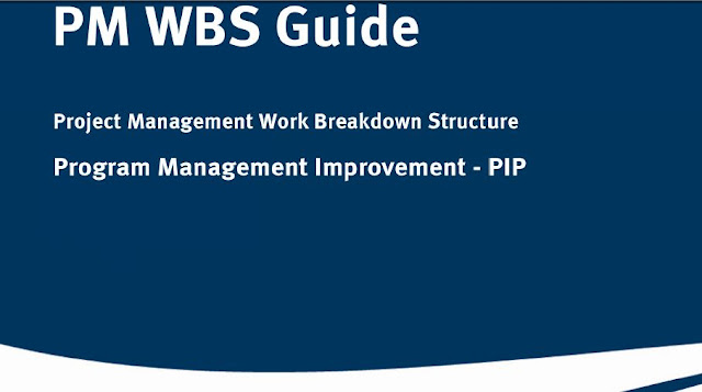 Project Management Work Breakdown Structure