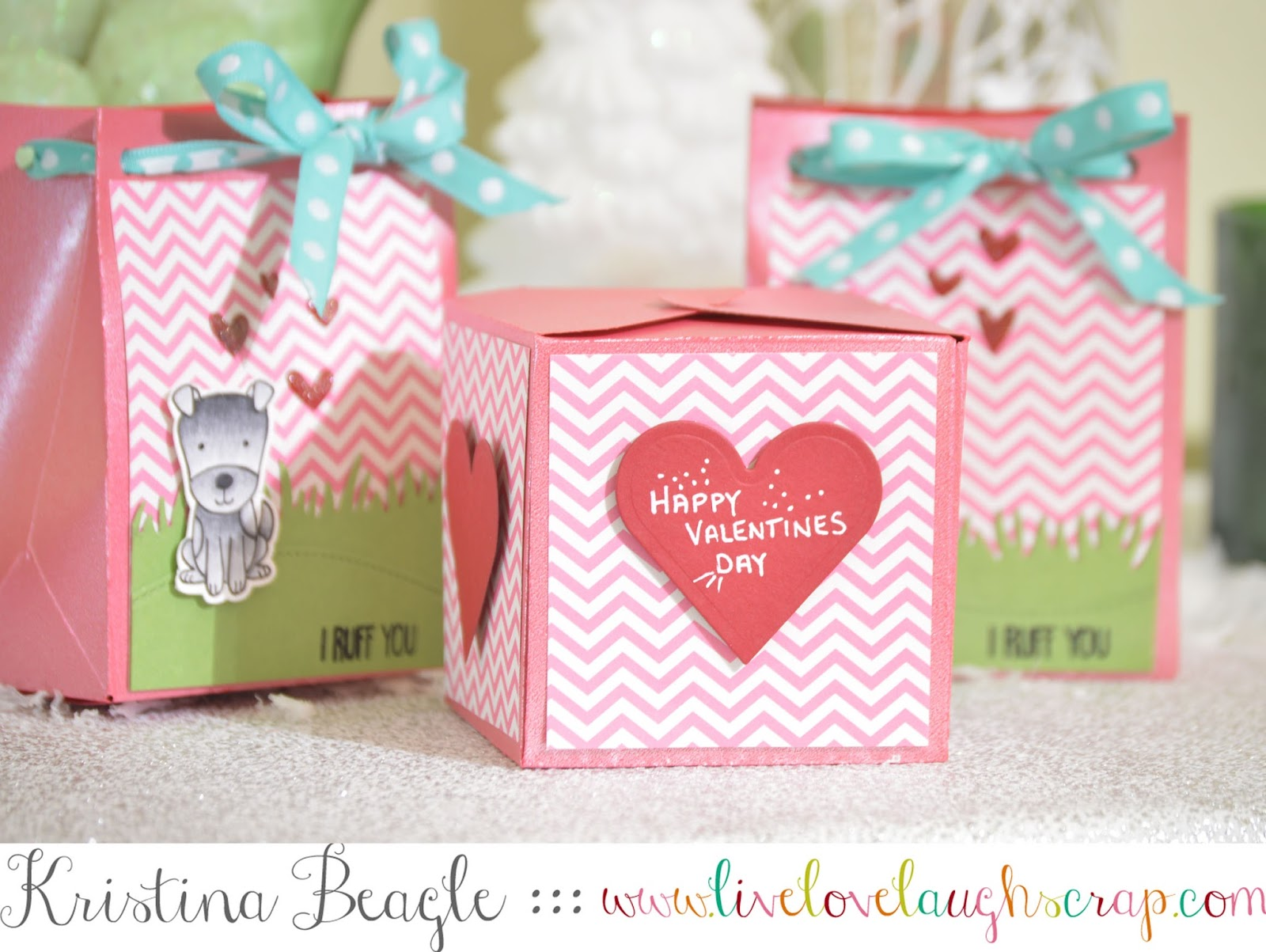 Live Love Laugh Scrap: Valentines Treat Bags w/ the WRMK Gift Bag ...