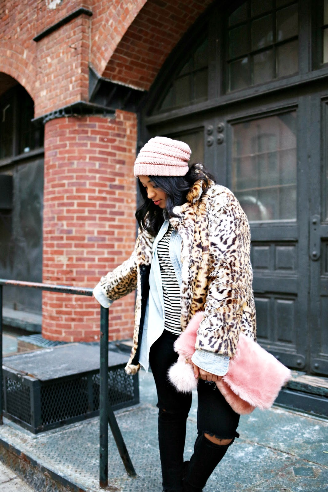 How to Style a Leopard Print Fur Coat
